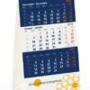 Mini 3 maandkalender staander type HT