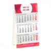 Mini 3 maandkalender staander type HC